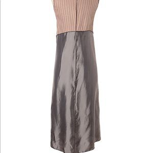 Rozae Nichols Dresses - Rozae Nichols long brown and gray rayon dress sz P